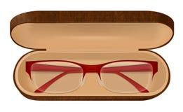 Brillen falls Illustration lizenzfreie abbildung