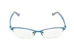 Brillen lokalisiert auf weißem Hintergrund Stockfotografie