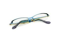 Brillen lokalisiert auf weißem Hintergrund Lizenzfreie Stockfotos