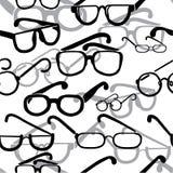 Brillen nahtlos lizenzfreie abbildung