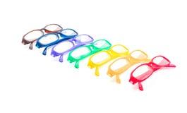 Brillen, Schauspiele oder Gläser stockfotografie