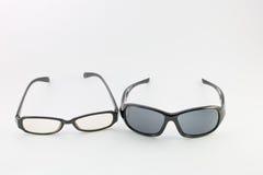 Brillen und Sonnenbrille Lizenzfreie Stockbilder