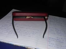 Brillenkasten lizenzfreie stockbilder