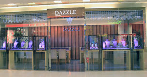 Brillez la boutique à Hong Kong image stock