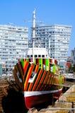 Brillez le bateau, Liverpool images stock