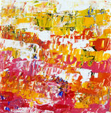 Brilliance. Abstract expressionist acrylic painting with plenty of textures and color. Great for a background or wall paper vector illustration