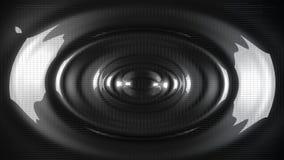 Brilliant black metal circles background. Brilliant black metal circles  background. 3d  render illustration Stock Image
