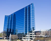 Brilliant Blue Building Royalty Free Stock Image