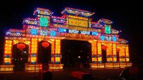 Chinese festival Spokane, Washington waterfront Stock Photo