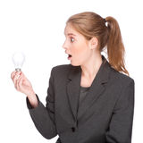 Brilliant businesswoman Stock Image