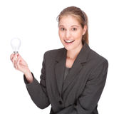 Brilliant businesswoman Royalty Free Stock Photography