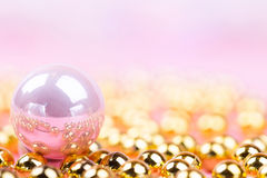 Brilliant christmas bauble and ornaments Stock Image