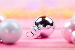 Brilliant christmas bauble and ornaments Stock Photos