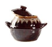 Brilliant clay pot Stock Photos