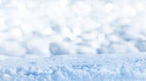 Brilliant clean snow Stock Images