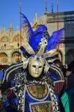 Brilliant costume Venice Carnival Royalty Free Stock Photos
