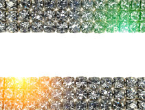 Brilliant diamond background Royalty Free Stock Photos