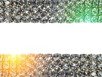 Brilliant diamond background Royalty Free Stock Photos