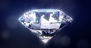 Brilliant diamond stock footage