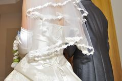 Bridal image, splendid and elegant very nice wedding. Brilliant graceful,splendid and elegant very nice wedding Royalty Free Stock Photos