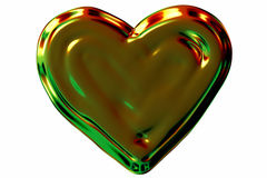 Brilliant heart Stock Photo