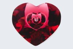 Brilliant heart Stock Image