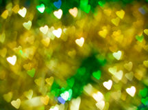 Brilliant hearts as background Royalty Free Stock Images