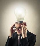 A brilliant idea Stock Photos