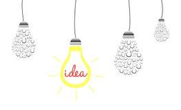 Brilliant Idea Concept Stock Photography