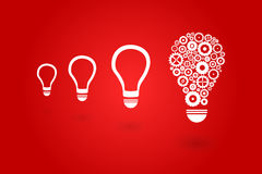 Brilliant Idea Light Bulb Royalty Free Stock Photography