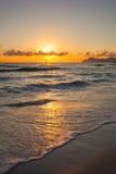Brilliant ocean beach sunrise. Stock Photography