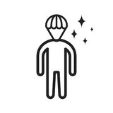 Brilliant. Person, professional icon  image. Can also be used for Personality Traits. Suitable for web apps, mobile apps and print media Royalty Free Stock Images