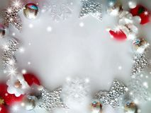 Background for congratulations happy new year and merry chrisrmas royalty free stock image