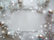 Background for congratulations happy new year and merry chrisrmas royalty free stock photo