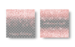 Brilliant pink background royalty free illustration