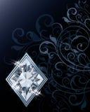 Brilliant poker diamonds card Royalty Free Stock Photography