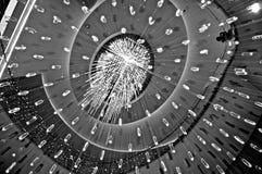Brilliant rain. Brilliant light rain in Manhattan royalty free stock images