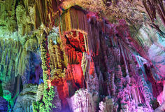 The Brilliant Reed Flute Cave Stock Photo