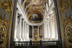Brilliant royal palace. Of France, interior of palace Stock Photos