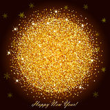 Brilliant sparkling background with frame Stock Photos