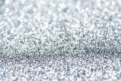 Brilliant sparkling silver background abstract. Royalty Free Stock Image