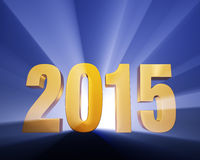 2015! Royalty Free Stock Photos