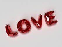 Brilliants do amor Foto de Stock Royalty Free