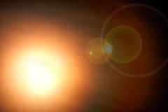 Brillo abstracto de la estrella de la falta de definición en fondo oscuro de la noche ilustración del vector