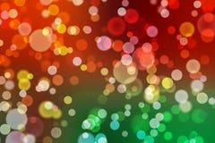 Brillo abstracto del bokeh de la luz del fondo, la Navidad borrosa ilustración del vector
