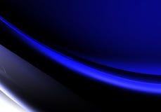 Brillo azul ilustración del vector