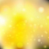 Brillo con las partículas en fondo borroso Imagen de archivo libre de regalías