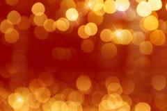 Brillo de guirnaldas Foto de archivo libre de regalías