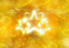 Brillo de las estrellas Fotos de archivo libres de regalías