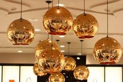 Brillo de las lámparas imágenes de archivo libres de regalías